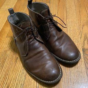 Penguin Merle Leather Boots Sz 12